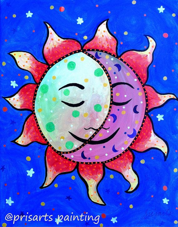 Latin clipart sun and moon Prisarts the best Flowers Sun
