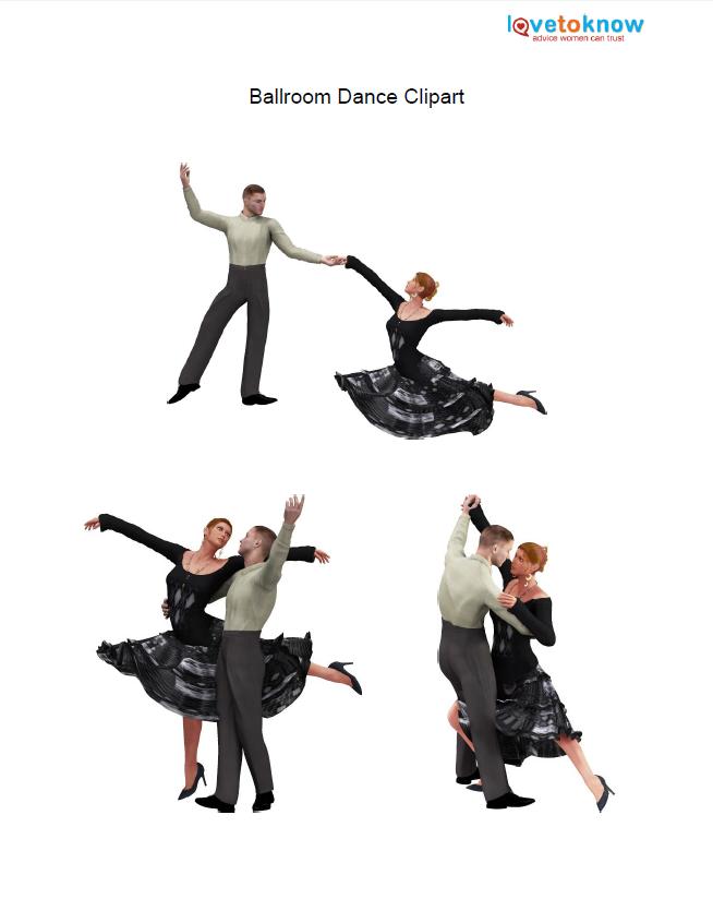Latin clipart swing dance Art Clip  Dance Ballroom