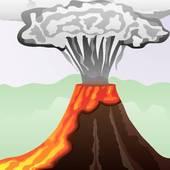 Lava clipart With column of Lava lava