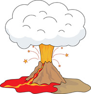 Volcano clipart For Geography Size: Search with