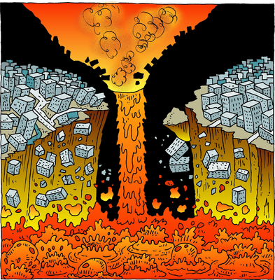 Lava clipart spewing Mountains  Art Molten Image: