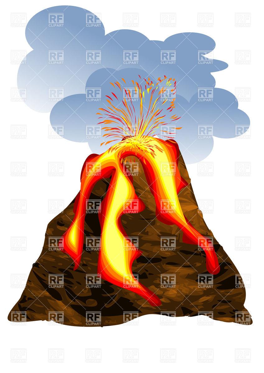 Disaster clipart volcano lava Lava #5 clipart Lava clipart