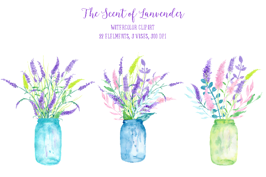 Watercolor clipart The by Lavender TheHungryJPEG Clipart