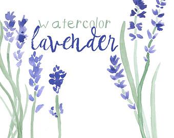 Lavender clipart Download Clip Clipart art Digital