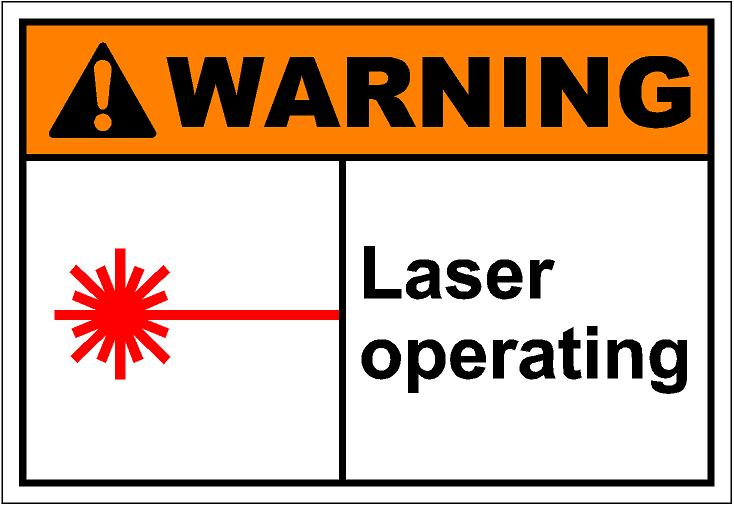 Lazer clipart WarnH074 operating Art SAi Clip