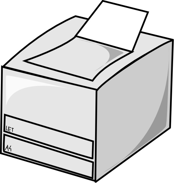 Laser clipart black and white #7