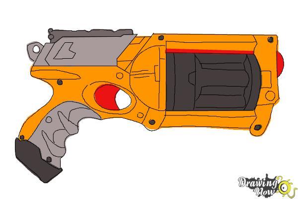 Lazer clipart nerf gun Nerf Draw How Draw Gun