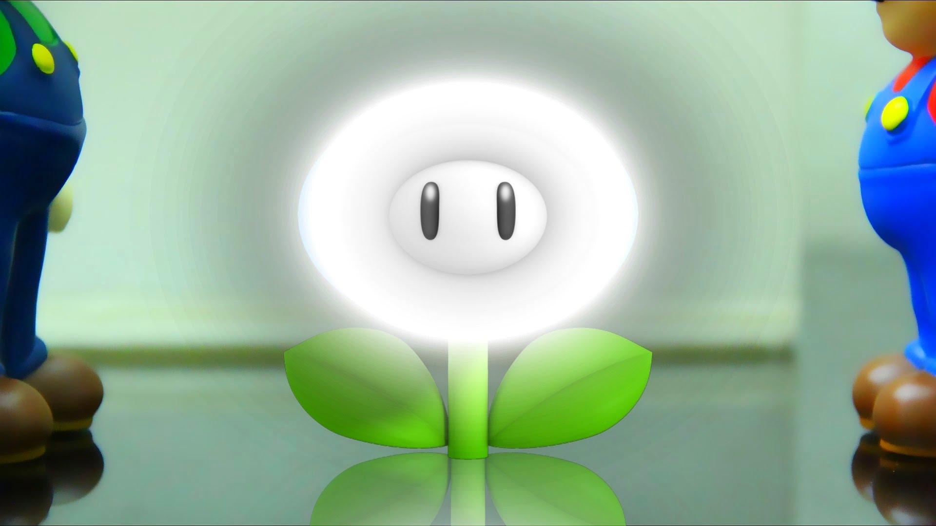 Lazer clipart super powers YouTube (Trailer) Mario  Flower