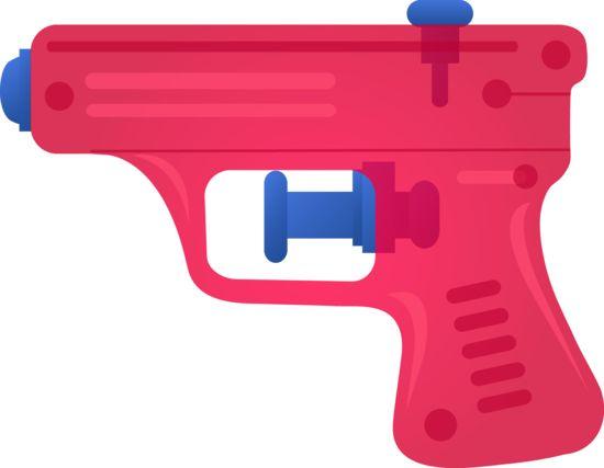 Laser clipart water pistol #3