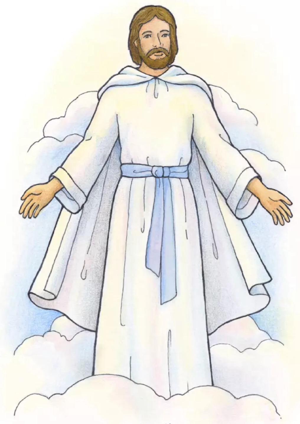 Lds Jesus Clipart LDS Christ: Teaching Children Jesus