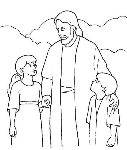 Baby clipart lds Jesus Clipart Children LDS Jesus