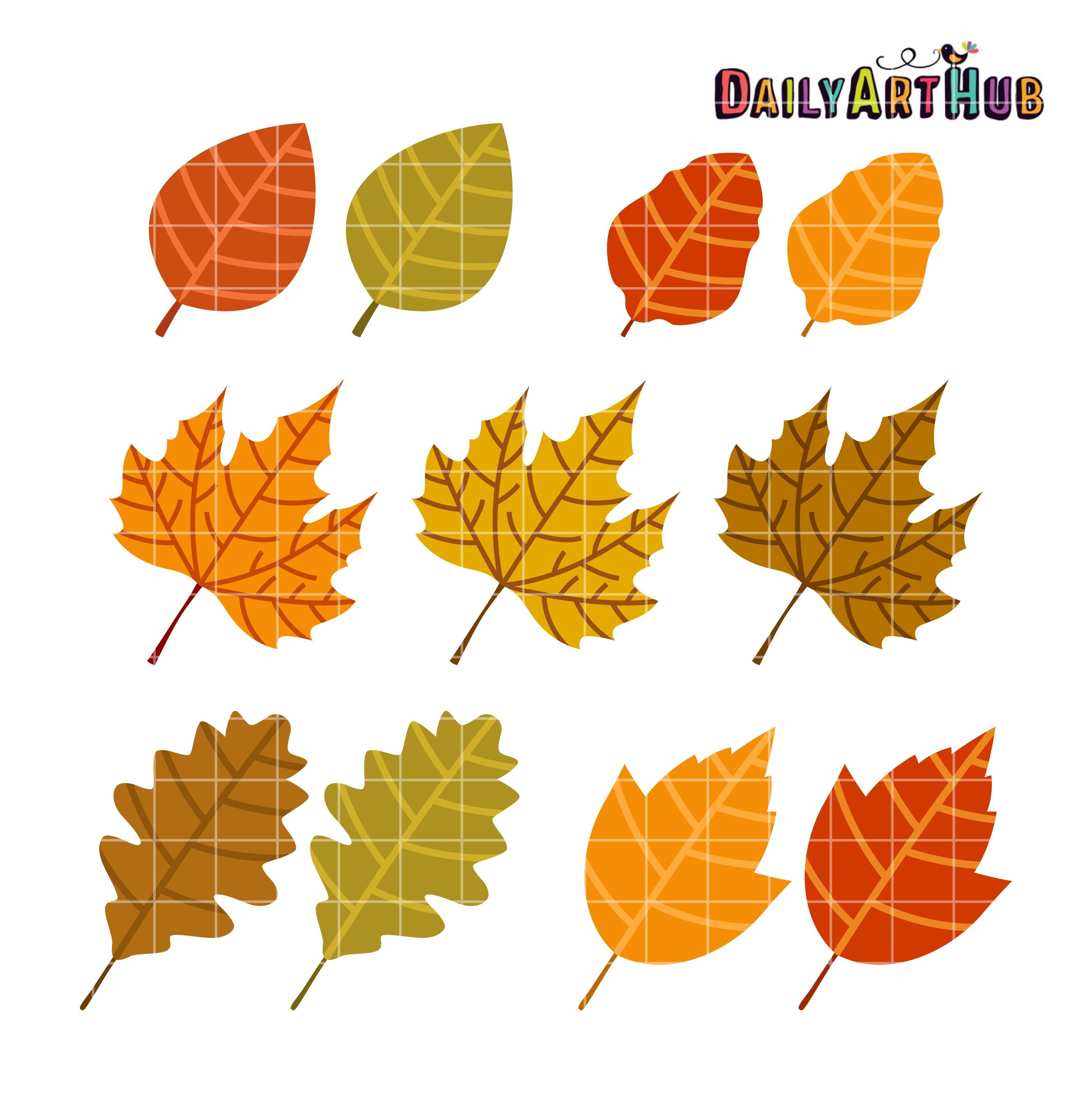 Leaves clipart autumn leaves Autumn Autumn Art Clip Hub
