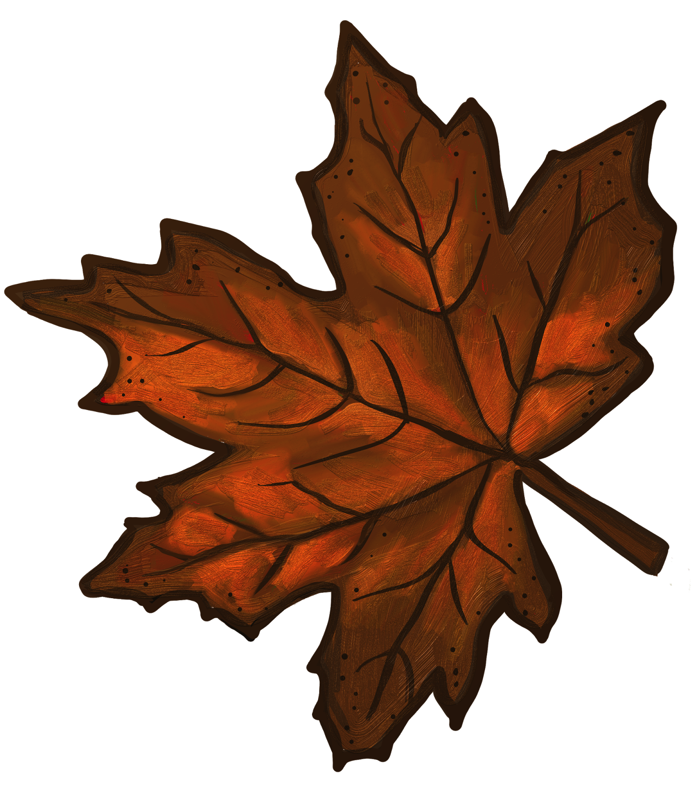 Brown clipart brown leaf Brown leaves maple Maple Maple