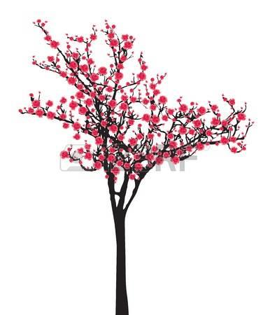 Cherry Tree clipart sakura Tree Sakura Sakura clipart drawings