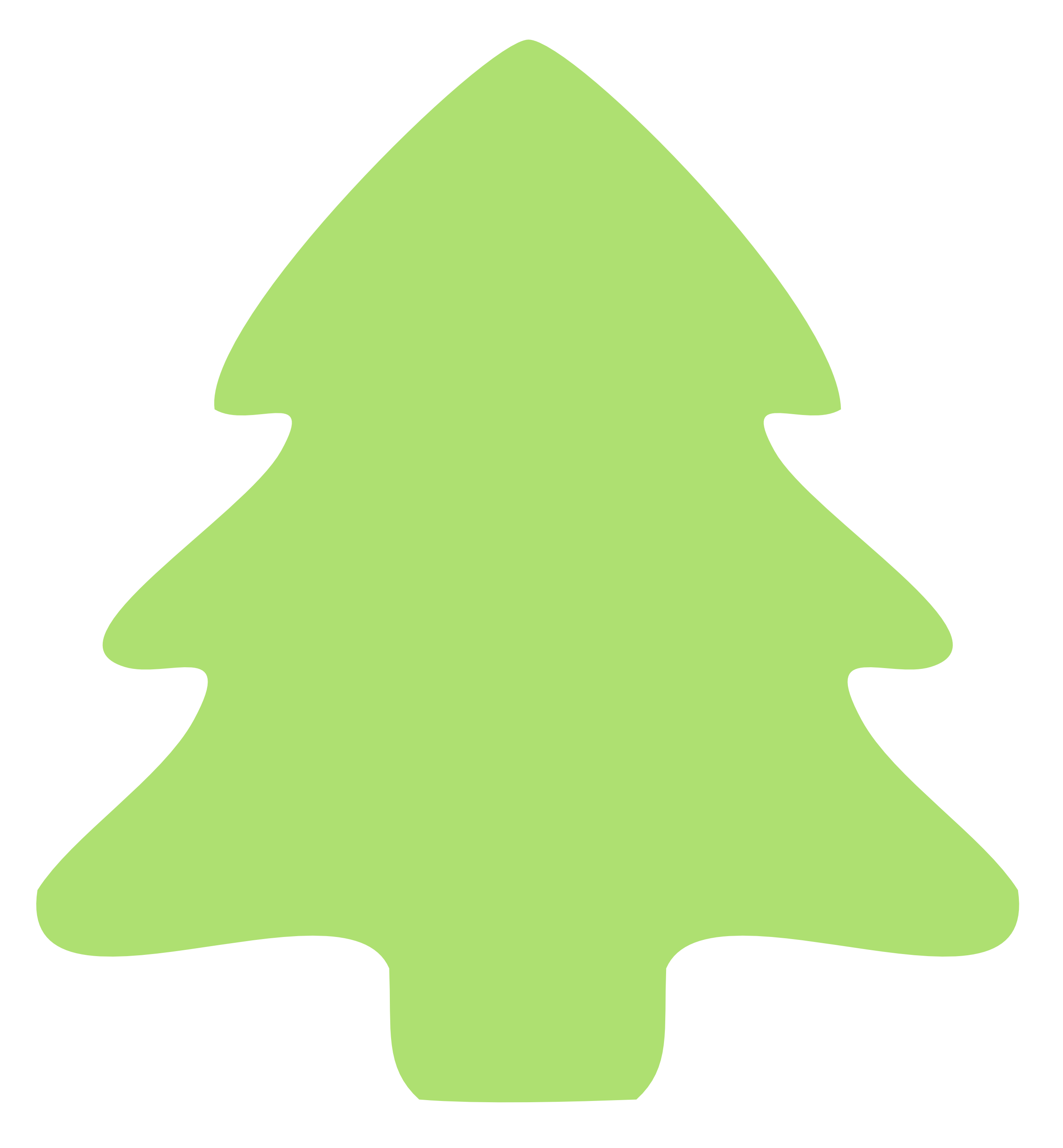 Christmas Tree clipart simple Free Art Tree Clip Images