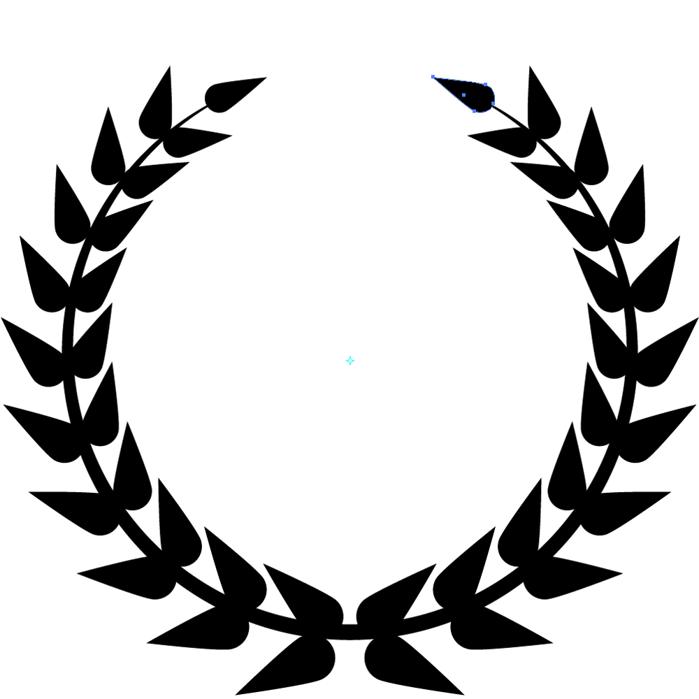 Leaves clipart circle #6