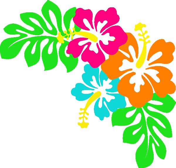 Blue Flower clipart lei flower Art Hibiscus Clip  Tropical