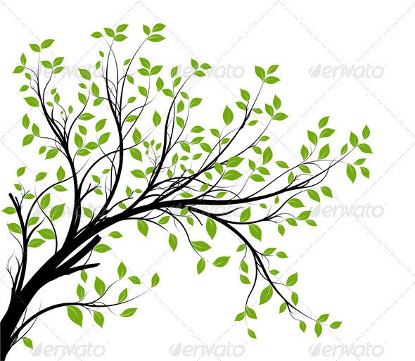 Tree clipart branch a #12
