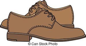 Shoe clipart men's shoe #1