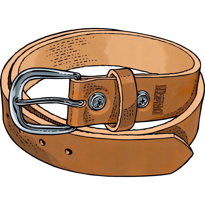 Leather clipart belt Duluth Trading Men's Heavy Belt