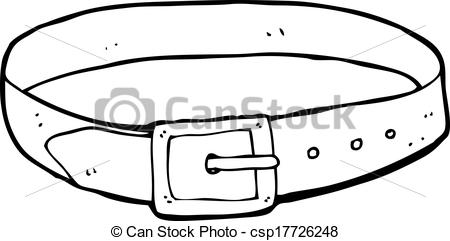 Leather clipart belt Search Clip Vector of csp17726248