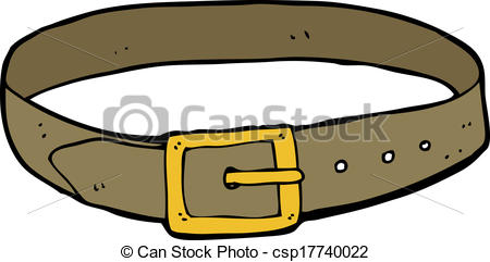 Leather clipart belt Search  Vector of csp17740022