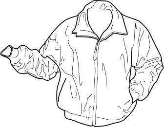 Leather clipart black jacket Outline Free Jackets Free Cliparts