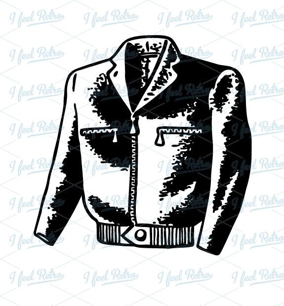 Leather clipart black jacket Leather Clipart Clipart Vest Leather