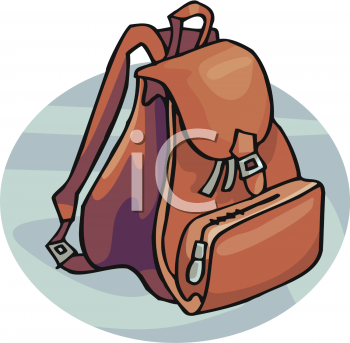 Leather clipart brown bag Bag Art Picture Leather A