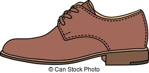 Leather clipart leather shoe And royalty classic Leather leather
