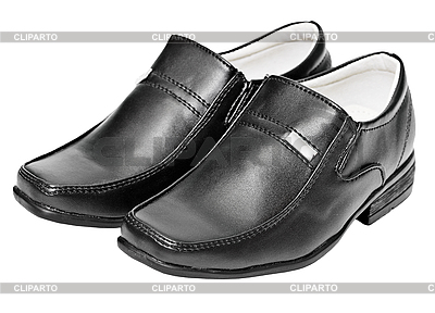 Leather clipart leather shoe High CLIPARTO stock Black leather