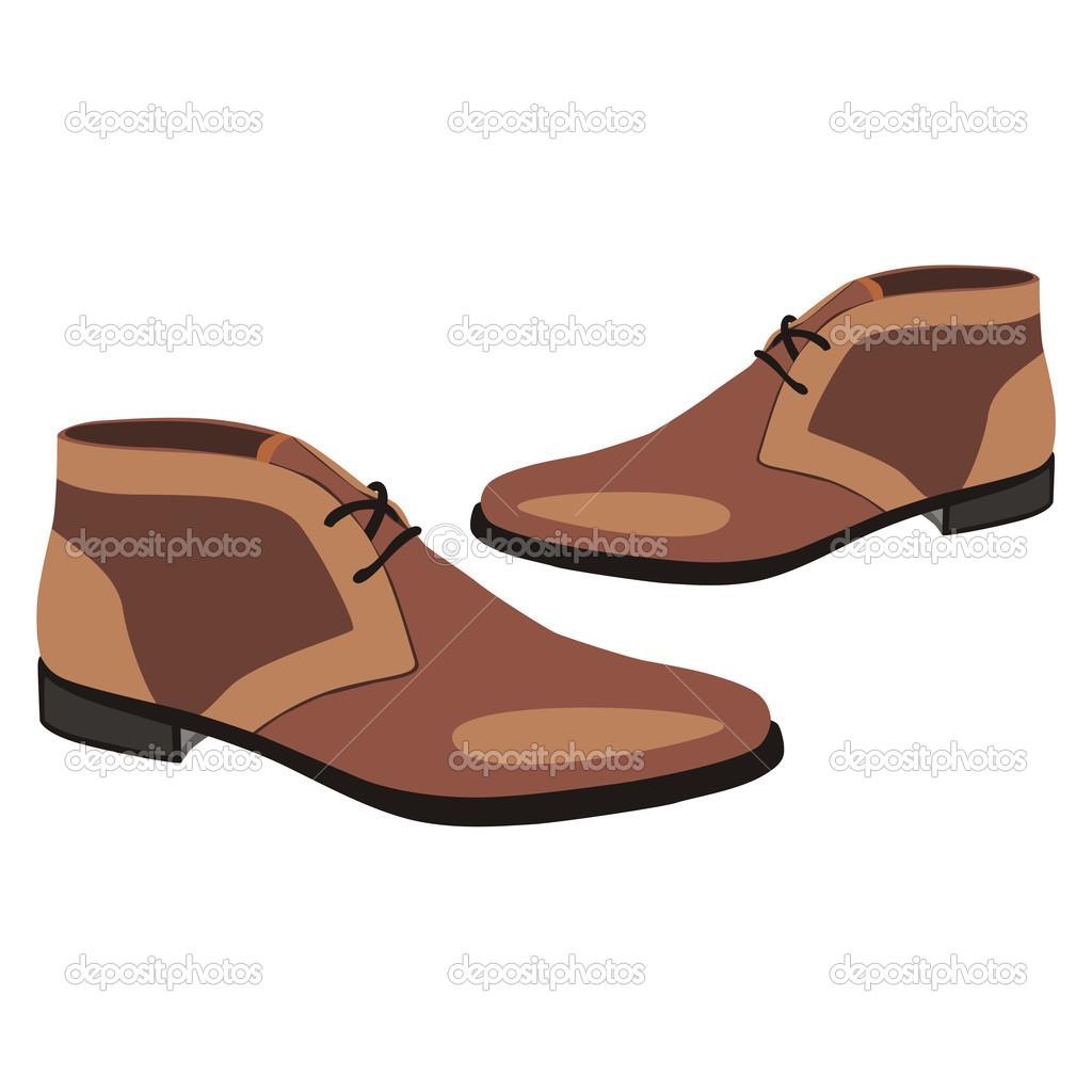 Sandal clipart men's Shoes Mens Clipart Shoes Clipart