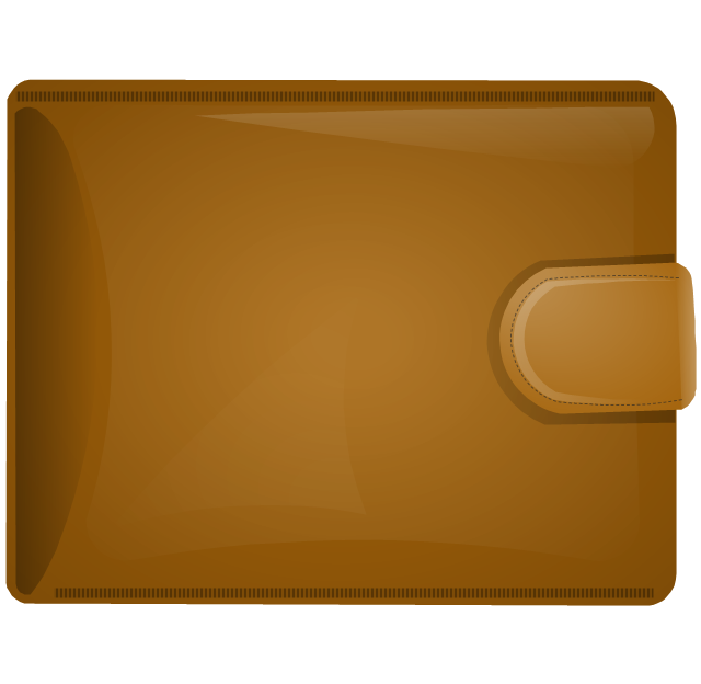 Leather clipart wallet Clipart Zone Wallet Leather Cliparts
