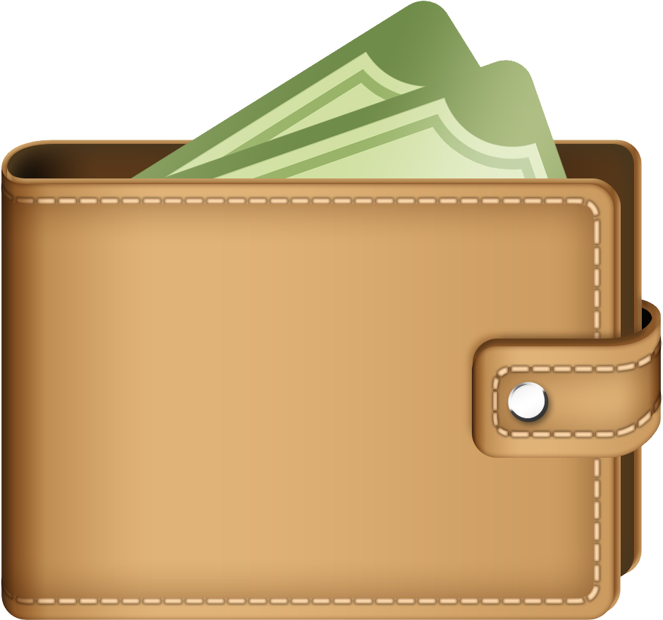 Leather clipart wallet PNG PNG free Wallet image