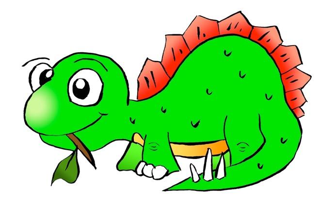 Stegosaurus clipart cute Clipart Dinosaur Clipartion Dinosaur com