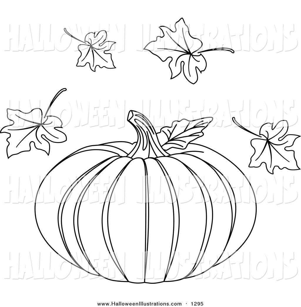 Leaves clipart halloween Of and and  of