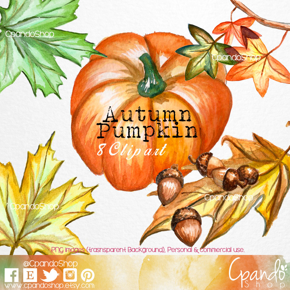 Leaves clipart halloween Clip transparent leaves transparent Png