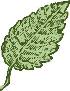 Leaves clipart single Leaf Art Leaf Clip com
