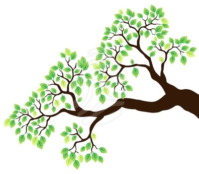 Tree clipart branch a #1