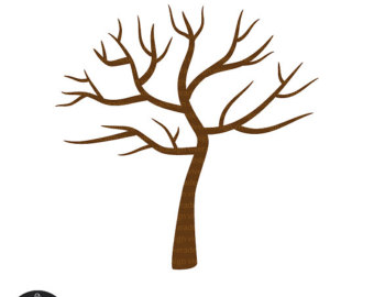 Brown clipart bare tree Images Tree Panda Clipart Art