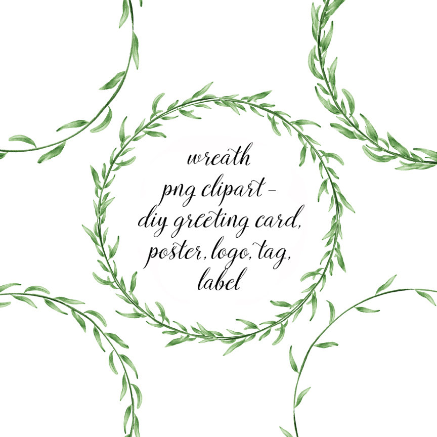 Leaves clipart wedding #11