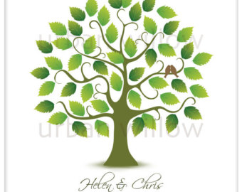 Leaves clipart wedding #14