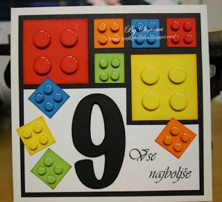 Lego clipart birthday card Papiart on Card Birthday ideas
