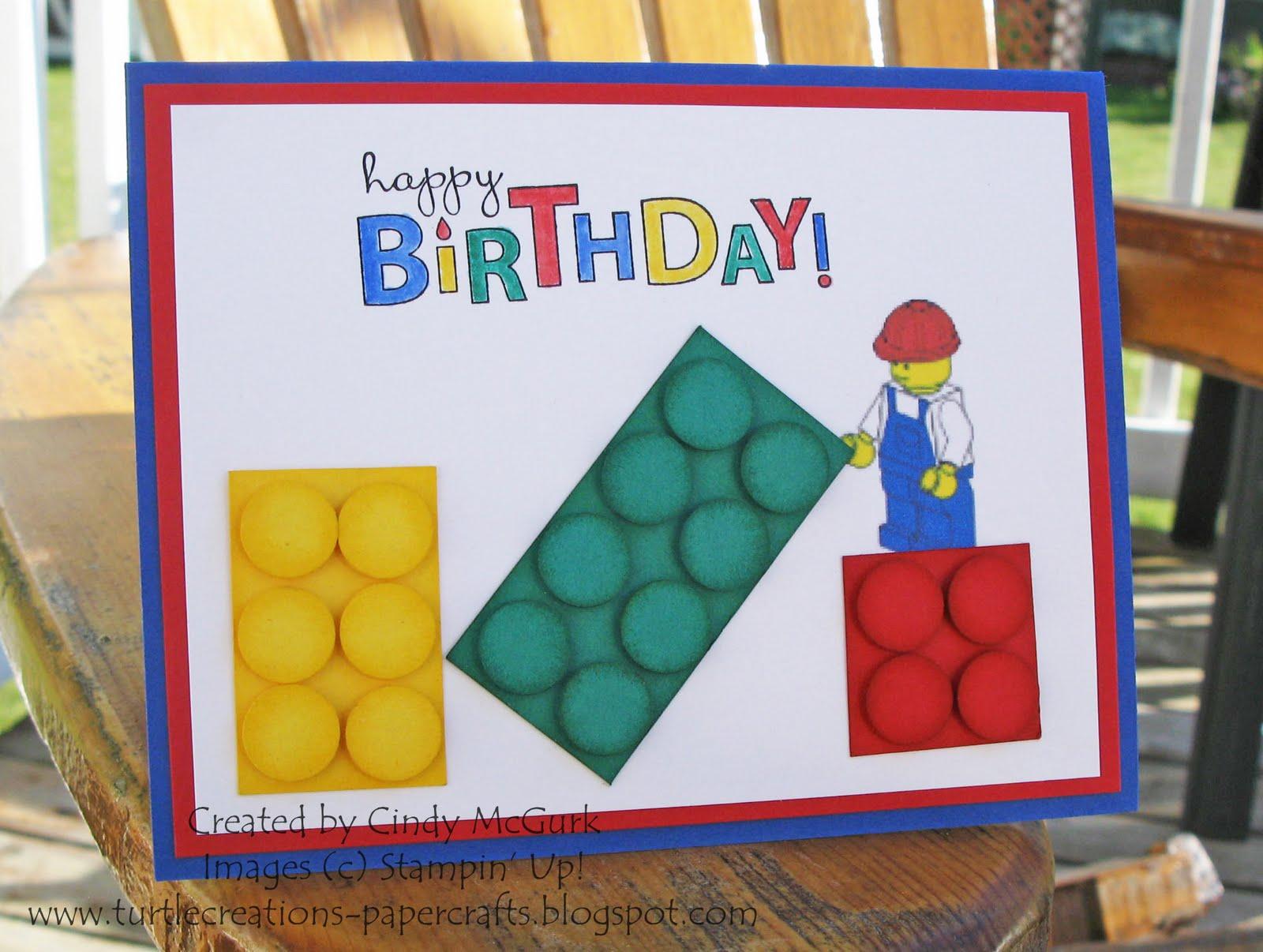 Lego clipart birthday card 7th Cards Birthday Clipart Cards