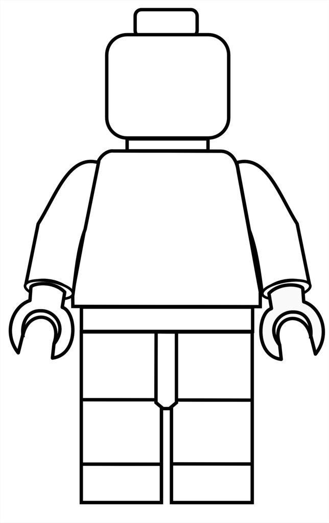 Lego clipart birthday card Free printable ideas LEGO Coloring