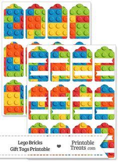 Lego clipart birthday card Lego creation Birthday PrintableTreats from