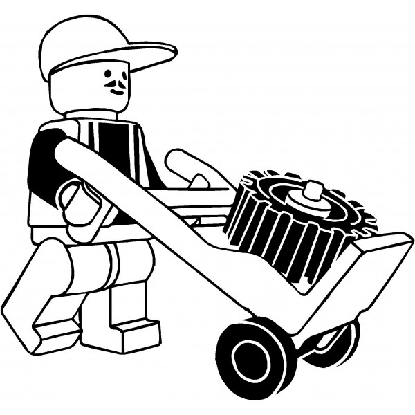 Codeyy clipart black and white Lego  And Black Clipart