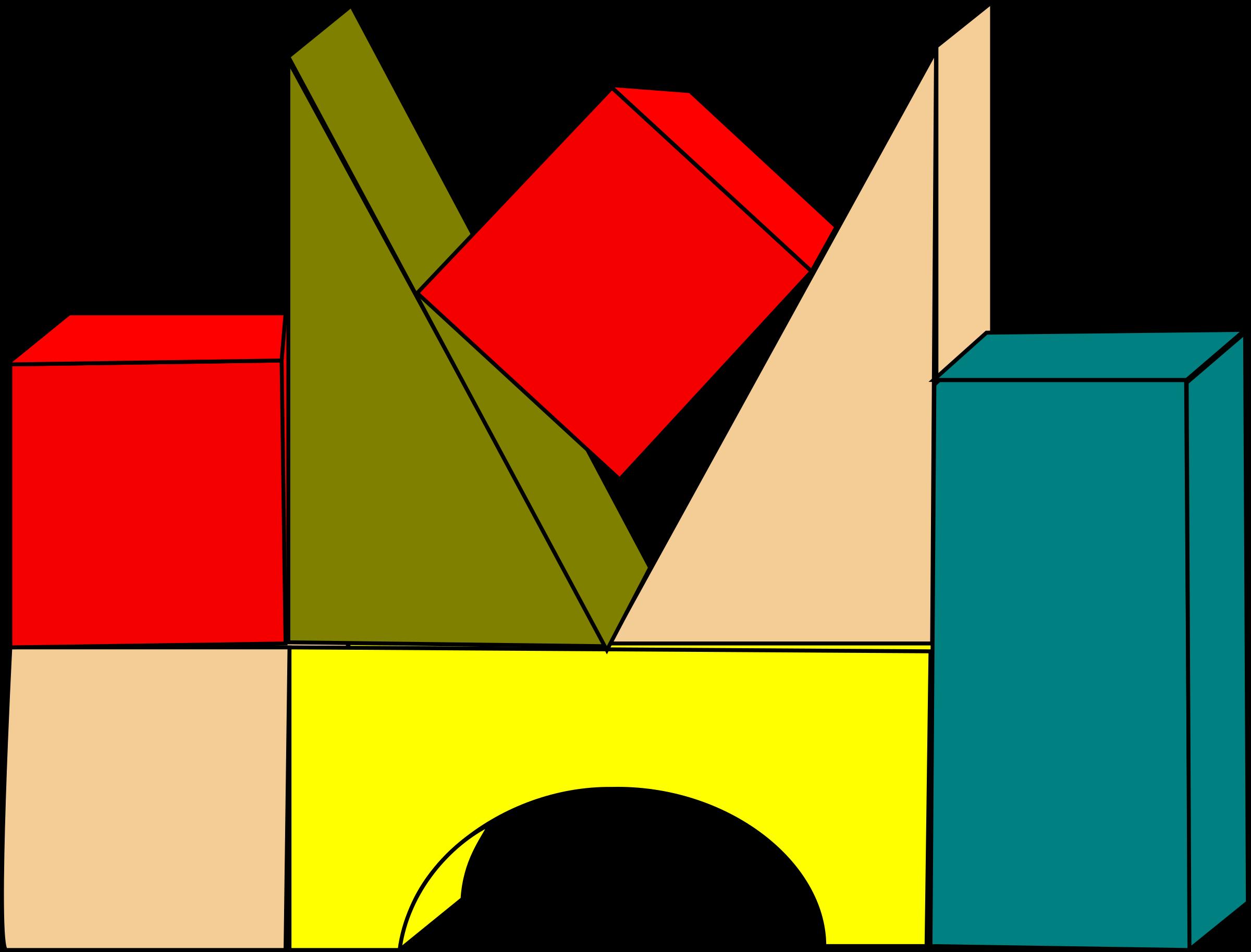 Lego clipart block tower Clip Block Art Panda Letters