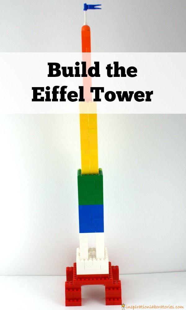 Lego clipart block tower Pinterest a 25+ Madeline Eiffel