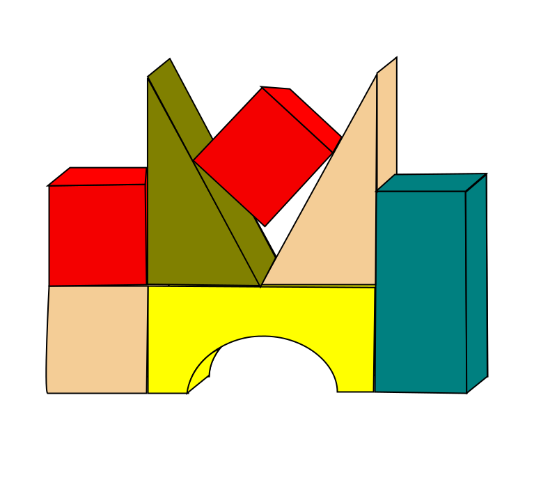 Lego clipart block tower Clipart Free Blocks Clip on